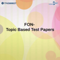 FON- Topic Based Test Papers