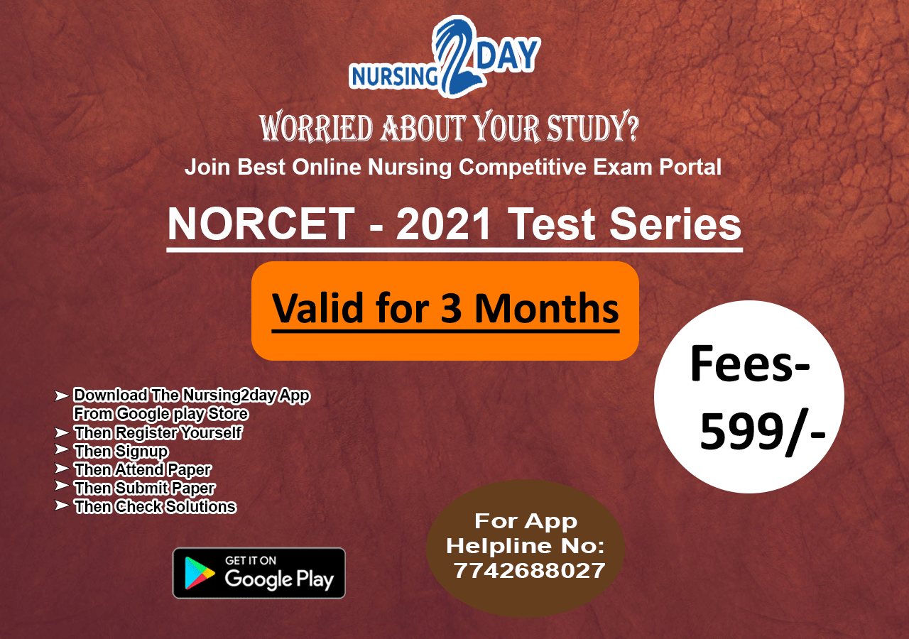 NORCET Membership - only 3600