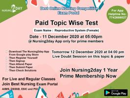 OBG - Topic wise test paper